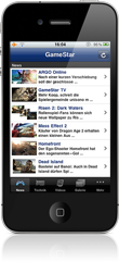 GameStar.de-App für iPhone